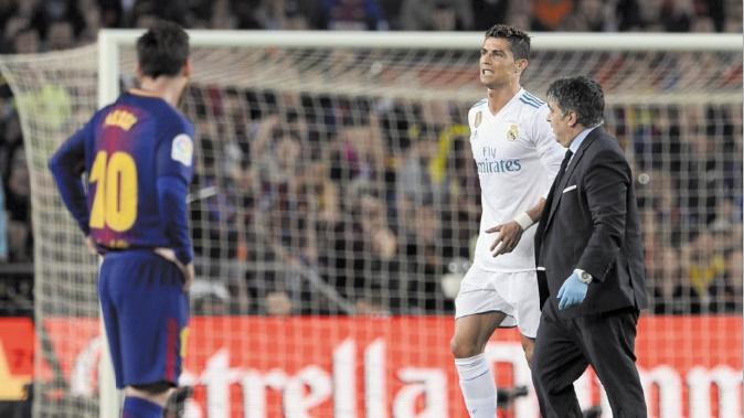 Blessure de Ronaldo