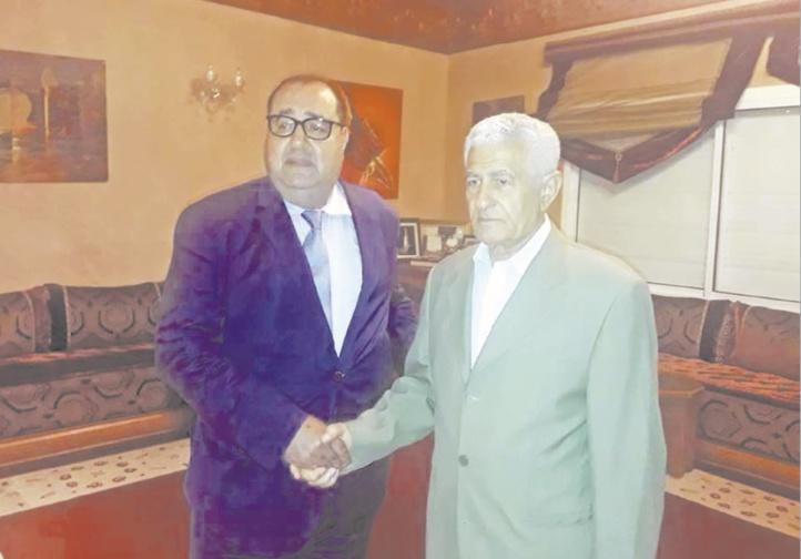 Driss Lachguar reçoit Abbas Zaki