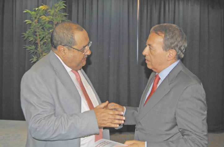 Driss Lachguar et Luis Ayala.