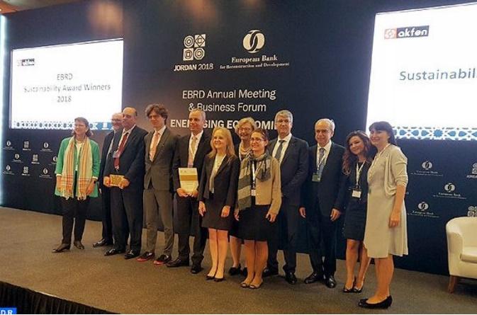 Le projet d'aménagement hydro-agricole du Saïss reçoit le prix EBRD Sustainability awards