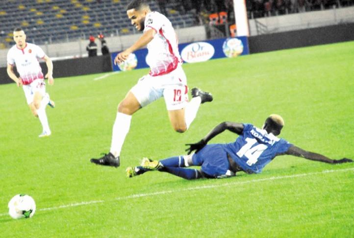 Tighazoui, le joueur en forme des Rouges.                 Ph: Moumen