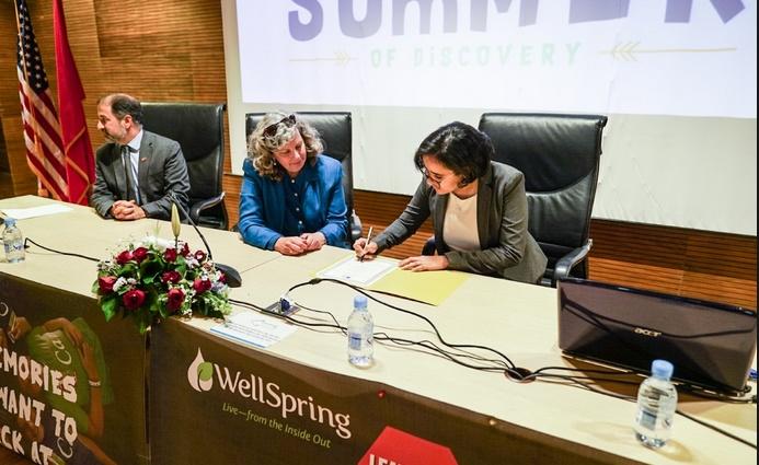 Lancement des camps d'été 2018 au profit de jeunes Marocains