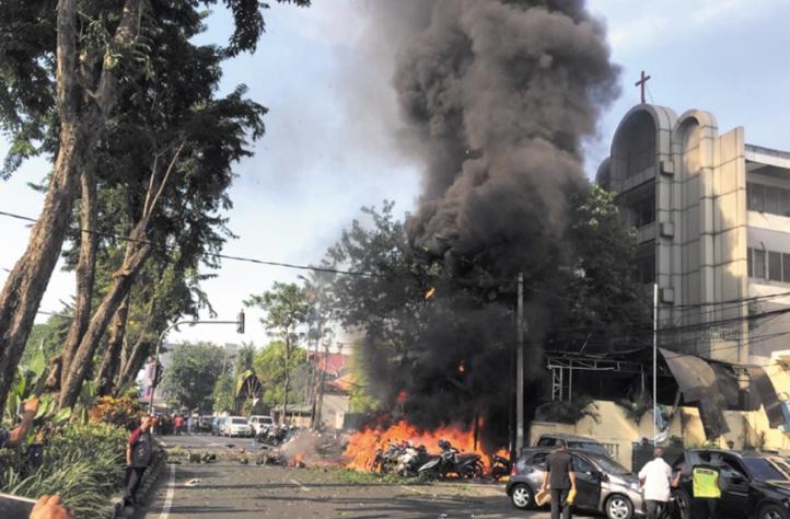 Les attentats commis en Indonésie ont été perpétrés par deux familles