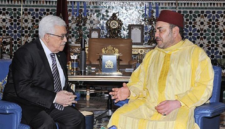 S.M le Roi réitère la constante solidarité du Maroc avec le peuple palestinien