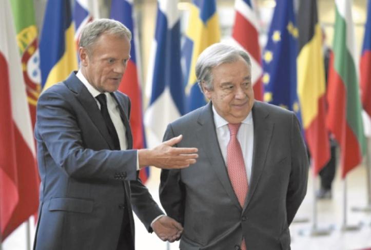 Les pays européens en front uni face aux caprices de Trump