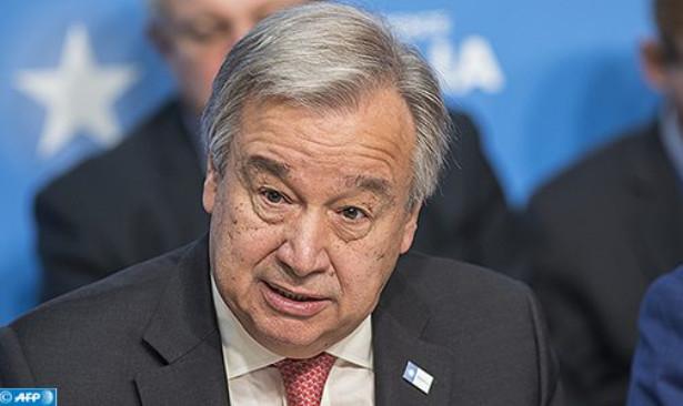 Antonio Guterres met en garde contre toute modification du statu quo au Sahara