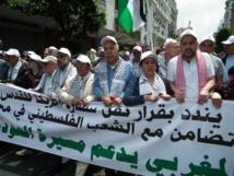 Le peuple marocain dit non aux exactions israéliennes et à la compromission américaine