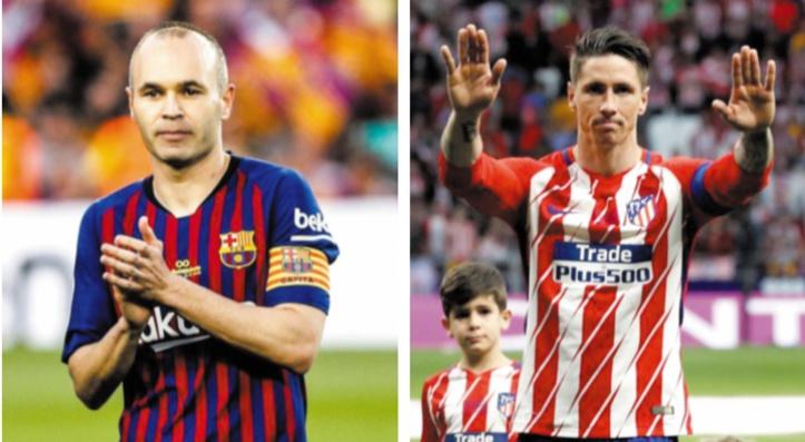 Iniesta et Torres : Des adieux en larmes