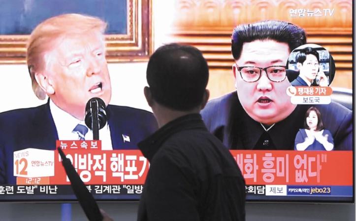 Pyongyang menace d'annuler le sommet avec Trump