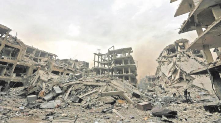 La coalition internationale frappe des positions du régime syrien