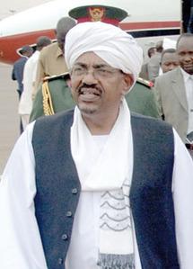 Omar el-Béchir au Tchad