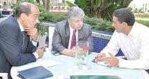 Interview exclusive du ministre palestinien du Travail, Ahmed Majdalani