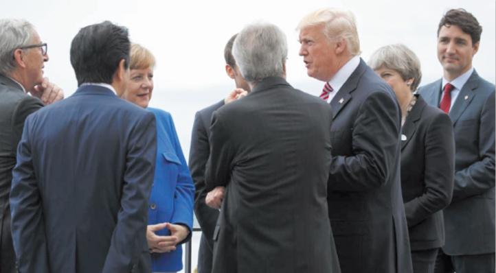 Le sommet G7 sous hautes tensions commerciales