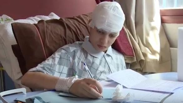 Mehdi Barih défie la maladie et passe les épreuves de la première journée de l'examen régional du baccalauréat