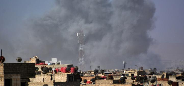 Onze civils tués dans une frappe de la coalition anti-EI en Syrie