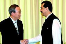 Pour une levée de fonds de 460 millions de dollars en faveur du Pakistan :  Ban Ki-moon appelle à l'aide