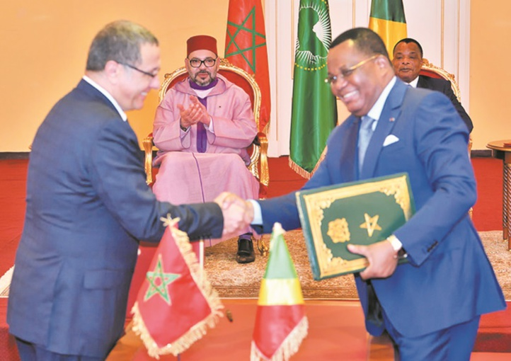 Le Maroc adopte des accords de coopération avec le Congo