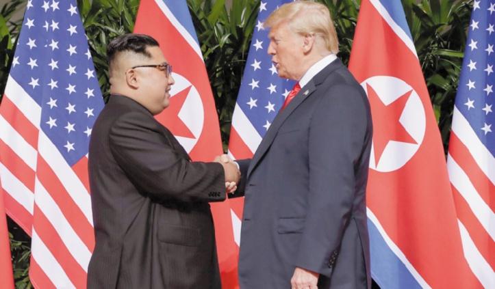 Un sommet historique entre Trump et Kim