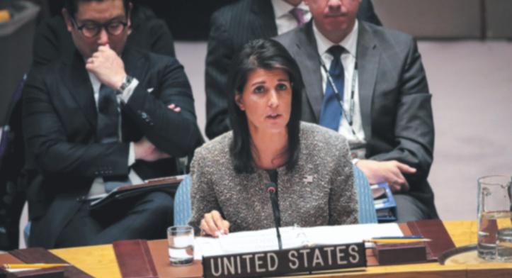 Les USA quittent le Conseil des droits de l'homme de l'ONU