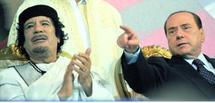 Le leader libyen a fait une arrivée fracassante à Rome : La visite du colonel Kadhafi embarrasse l'Italie