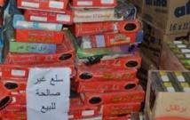 Saisie et destruction de plus de 26 tonnes de produits alimentaires impropres à la consommation