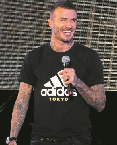 Pour Beckham, la finale serait Argentine-Angleterre
