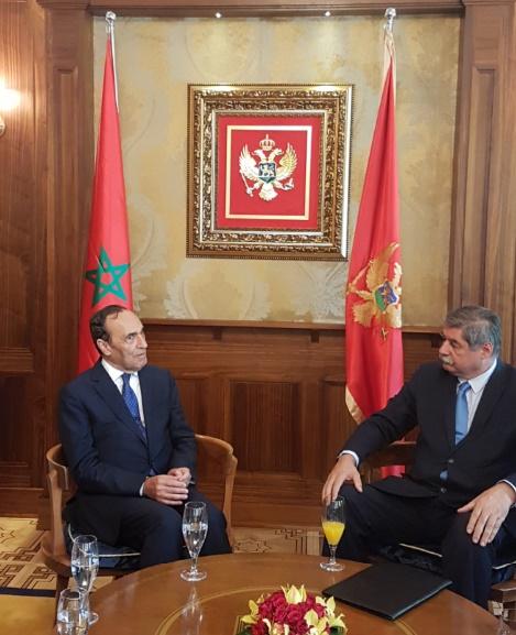Entretien entre le président du parlement et Zoran Jankovic, secrétaire d'Etat  aux Affaires étrangères