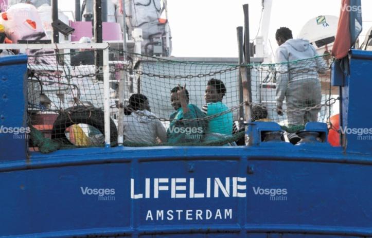 Fin de l'odyssée du Lifeline à Malte