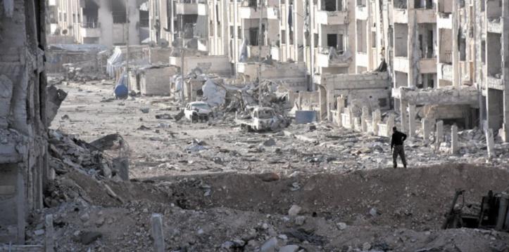 22 civils tués dans des raids aériens en Syrie