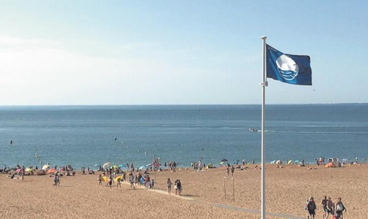 21 plages battront Pavillon bleu cet été