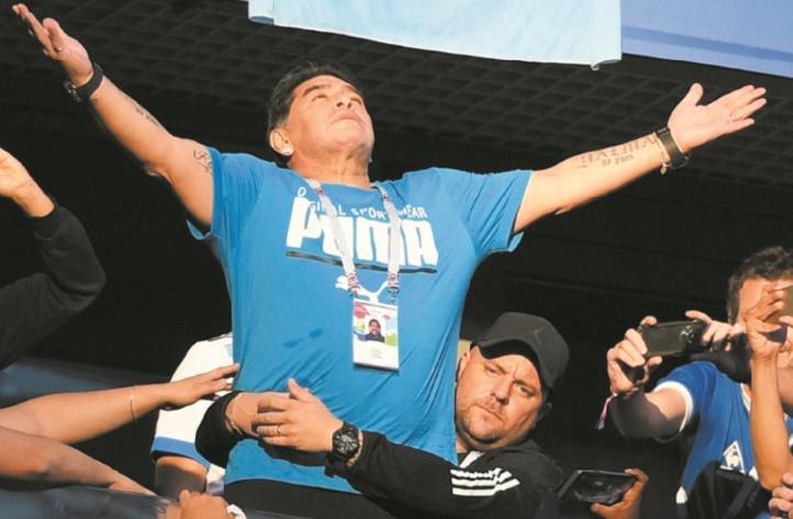 Maradona Je vais parfaitement,  je n'ai jamais été aussi bien