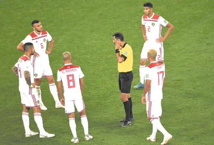 Mondial 2018 : La FRMF saisit la FIFA au sujet des erreurs d'arbitrage subies par  la sélection nationale
