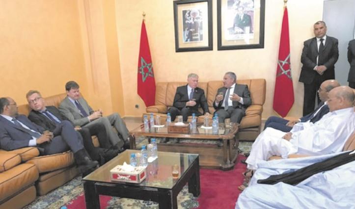 Horst Köhler rencontre les élus de la région de Laâyoune