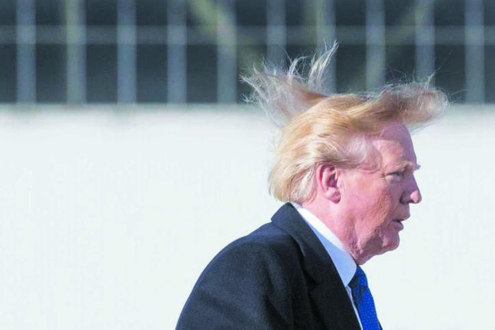 Insolite :  Trump vante  sa chevelure