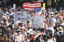 Des milliers de manifestants américains contre la politique migratoire de Trump