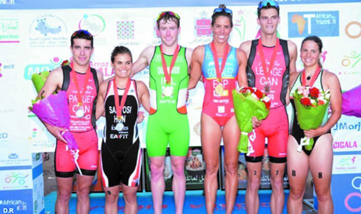 Victoire hispano-irlandaise à la Coupe d'Afrique de triathlon à Larache