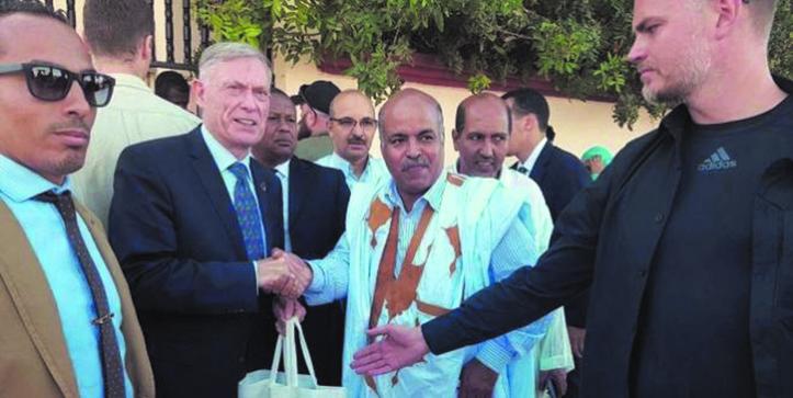 Horst Köhler satisfait de sa visite dans nos provinces sahariennes
