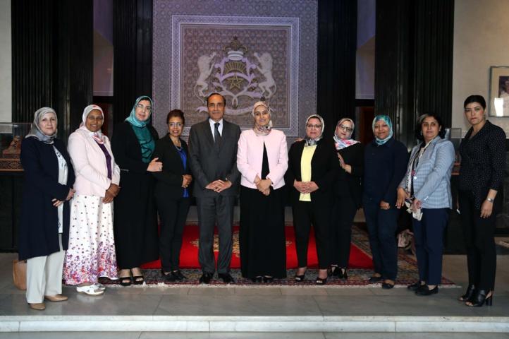 Habib El Malki salue l'action constructive du groupe de travail thématique chargé de l'égalité et de la parité