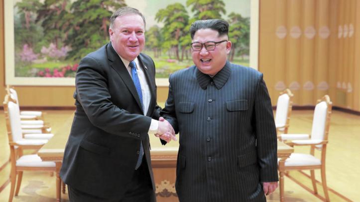 Mike Pompeo en Corée du Nord pour demander des détails sur le nucléaire