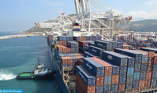 Hausse du trafic conteneurs au premier semestre au port Tanger-Med