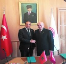 Entretien à Ankara entre le président de la  Chambre des représentants et son homologue turc