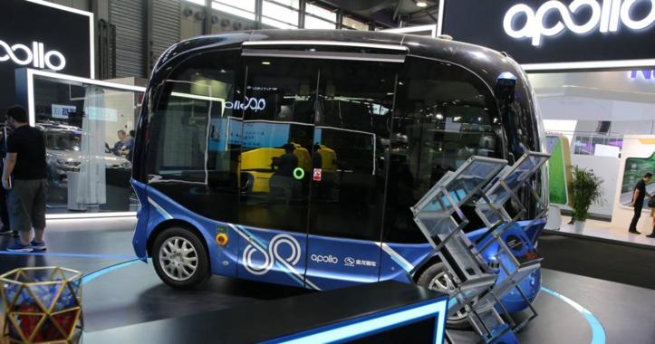 Baidu lance des  minibus autonomes en Chine