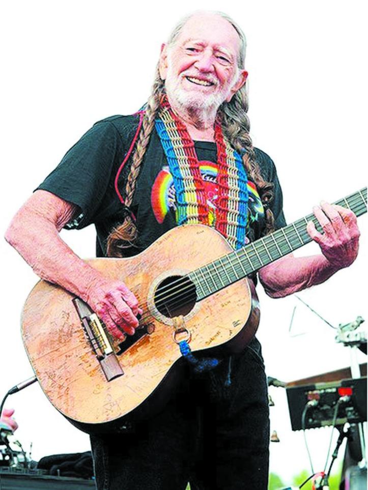 Des stars dans le rouge : Willie Nelson
