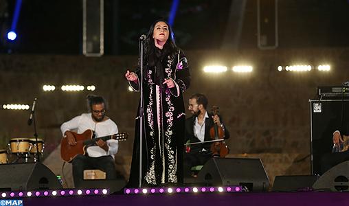 Nabila Maân emporte le public d'Ifrane dans un voyage musical sublime