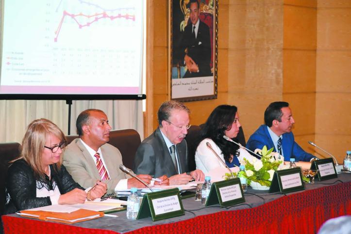Ahmed Lahlimi Alami, Haut-commissaire au plan. Ph : Lmoussaoui
