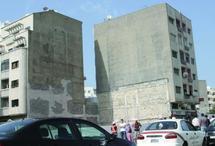 Boulevard Bahmad à Casablanca : Un immeuble incliné sème la panique