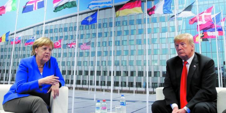 Au sommet de l'OTAN, Trump suggère aux Alliés de doubler leurs dépenses militaires