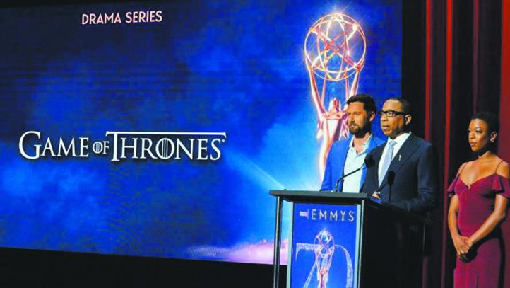 """70ème Emmy Awards """"Game of Thrones"""" et Netflix en tête des nominations"""