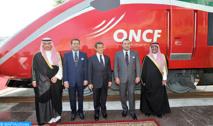 """S.M le Roi baptise le TGV marocain du nom d'""""AL BORAQ"""""""