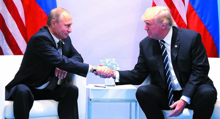 Poutine et Trump, deux personnalités aux antipodes